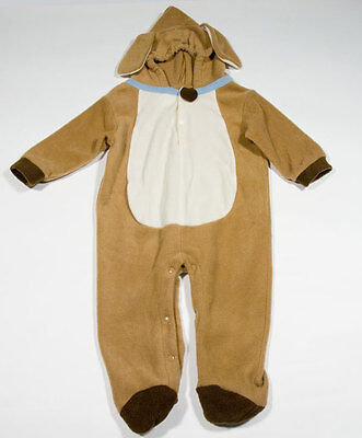 INFANT 12M 18M COSTUME HALLOWEEN BROWN PRECIOUS PUPPY DOG HOODED FLEECE BOY - Baby Costumes Walmart