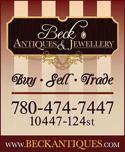 We Buy Sell & Trade Antiques