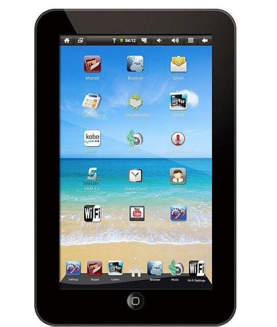 Sylvania SYNET7LP 2GB, Wi-Fi, 7in Tablet - Black