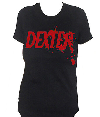 fm10 t-shirt donna DEXTER serie tv Morgan serial killer CINEMA&TV