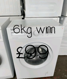 Beko 6kg washing machine free delivery in Leicester