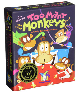 GameWright GW 241 Too Many Monkeys Board Games