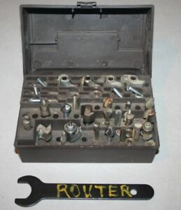 Craftsman Router and Numerous Bits