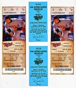 Minnesota Twins Ticket Stub