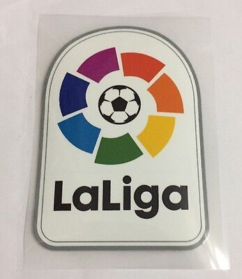 266670b6a LFP LA LIGA soccer Patch badge FC BARCELONA REAL MADRID Athletico 2016-2017