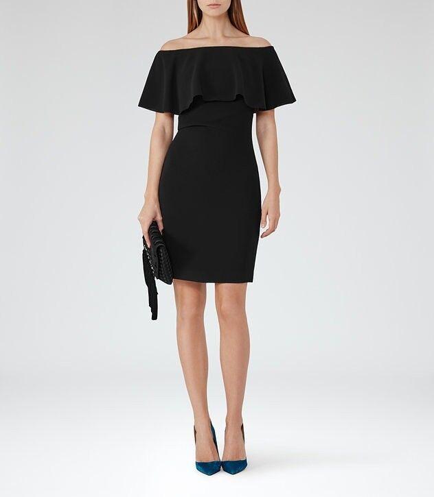 Black Dress Reiss In Oval London Gumtree
