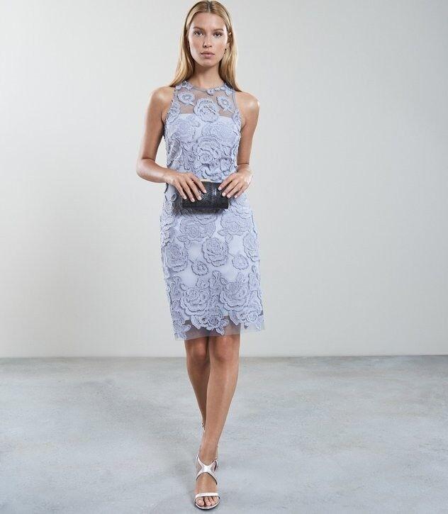 4b33282db6e2 Unworn Reiss Meghan Floral Lace dress