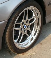 """18""""  BMW M5 RIMS WITH TIRES"""