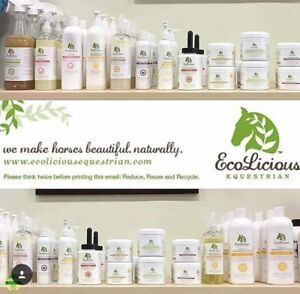 Ecolicious Equestrian Grooming & Bathing Products