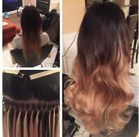 $300+ HAIR EXTENSIONS! TAPES AND FUSION