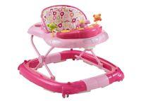 Pink baby walker £25
