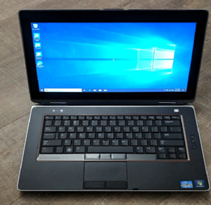 Dell E6420 Laptop with Office (i5-8GB-win10-320gb)