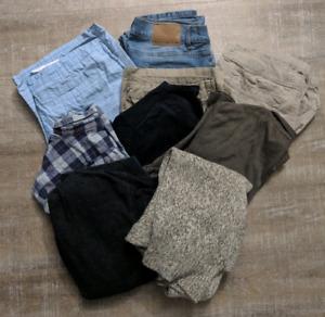 Mens clothing lot (9 items 20$)