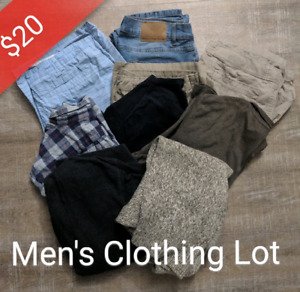 Mens clothing lot (9 items for 20$)