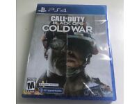 PS4 Cold War game £35
