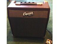 Cruzer bu Crafter guitar amp