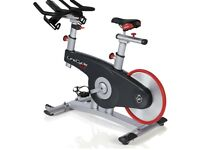 Lifecycle spin bike with console