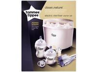 Brand new tommee tippee electric steriliser starter set