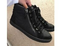 100% real Chanel trainers size 4 will fit 5