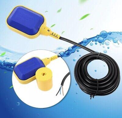 10m Float Switch Automatic Water Liquid Level Sensor Sump Tank Nonc Controller