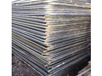 🏆Heras Site Security Fencing Panels - Used