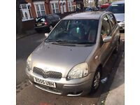 TOYOTA YARIS 2005 COLOR COLLECTION 1.0 PETROL 5 DOOR HATCHBACK GREAT CONDITION