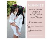 Independent Mummies! Passionate about creating an income from home working around your kids!