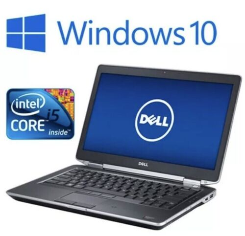 Laptop Windows - Dell Laptop Ready To Go Intel Core i5 Windows 10 | Office Word Excel Etc | 12.5""