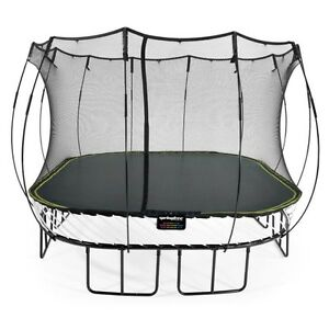SPRINGFREE TRAMPOLINE WITH NET 14x14
