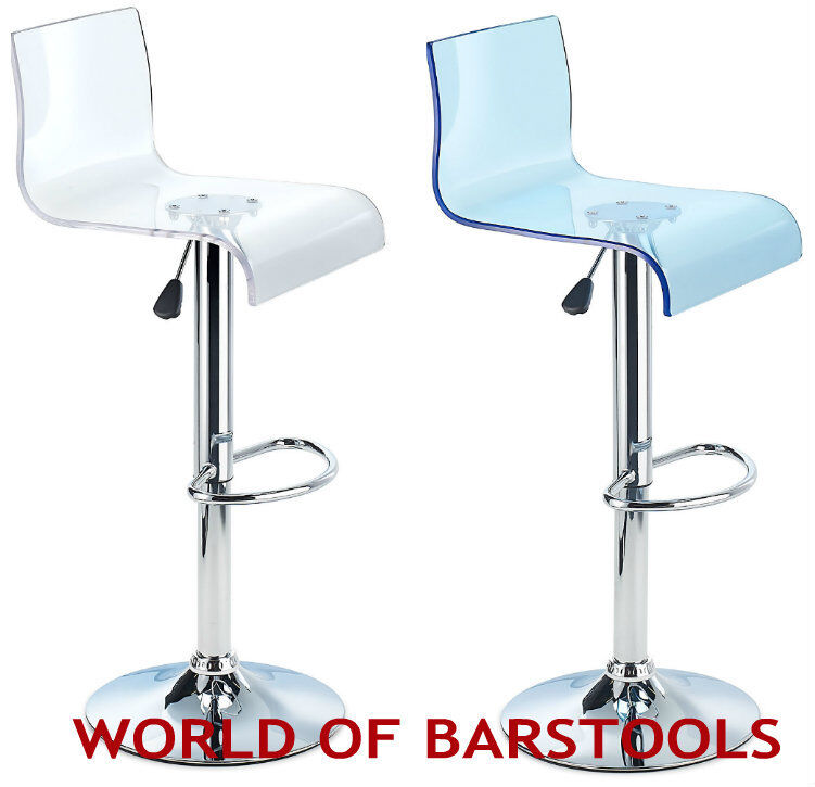 Details About Modern Glitz Acrylic Bar Stool