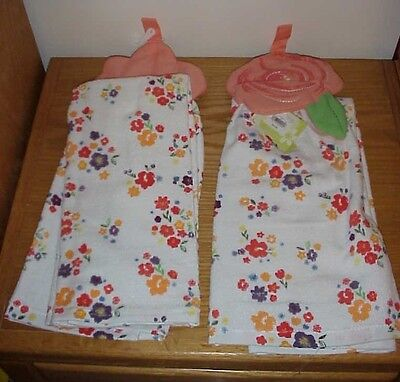 2 pc Kitchen Dish Towels  Top Quality Spring Easter 16 x 26  inch NWT