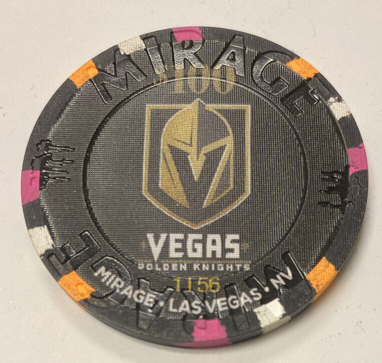 The Mirage $100 Casino Chip - Vegas Golden Knights - Las Vegas #1156