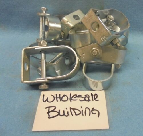 """1"""" PIPE CLEVIS HANGER CLAMP, 3/8"""" ROD SIZE, LOT OF 10"""
