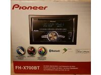 Pioneer Bluetooth Double Din