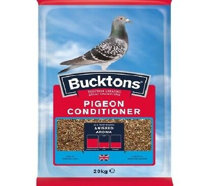 PIGEON CONDITIONER - (20kg) - Bucktons Aniseed Aroma Trapping bp Racing vf Bird