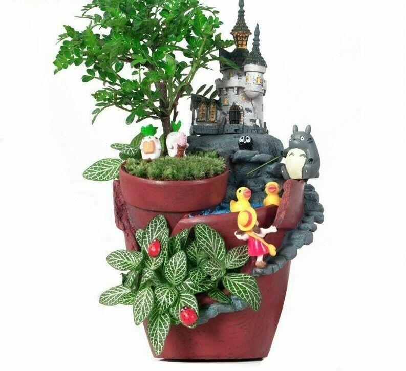 Garden Pot Novelty Bonsai Plant Flower Pot for Rural House P