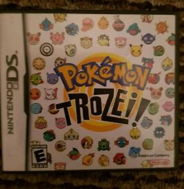 Pokemon Trozei DS game