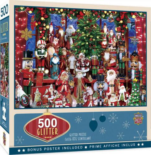 Masterpieces 500 Piece Glitter Jigsaw Puzzle - Holiday Festivities