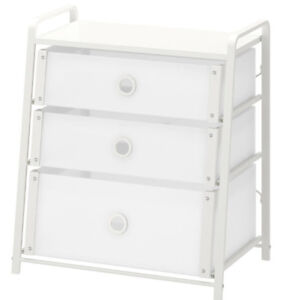 IKEA White Chest of Drawers, can also be used as nightstand- $15