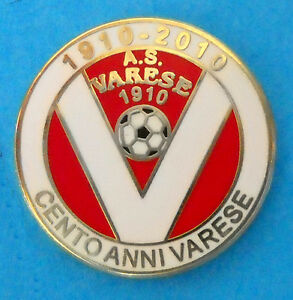 DISTINTIVO-SPILLA-PIN-BADGE-AS-VARESE-CALCIO-100-CENTENARIO-818