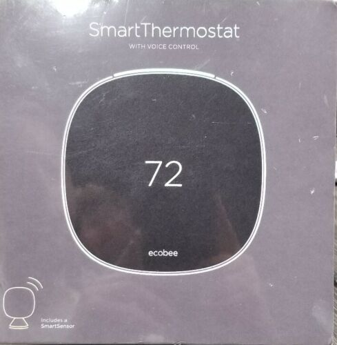 Ecobee EB-STATE5-01 Programmable Smart Thermostat with Voice