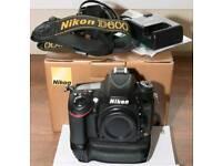 Nikon Full frame camera and lenses kit