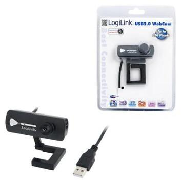 LogiLink® USB Webcam with Microphone