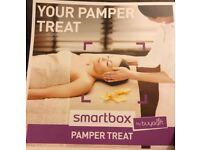Pamper treat voucher