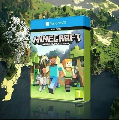Minecraft Windows 10 Edition - Full Game -Instant Delivery-no box