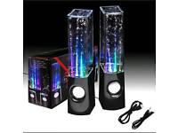 New dancing water speakers