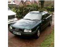Audi 80 2.0, immaculate condition, 99,000 miles, 12 month MOT,