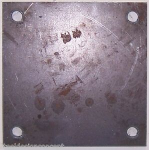Ankerplatte Blechplatte 200x200x12 mit 4x 14mm Bohrungen NEU