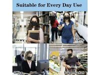 Everyday Cotton Face Mask Reusable Breathable Dust Allergies Navy