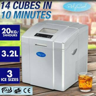 3.2L Portable Ice Cube Maker Machine Commercial Automatic Home